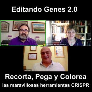 Presentación virtual de Editando Genes 2.0